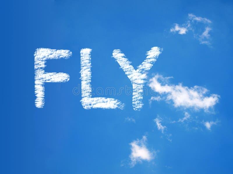 Πετάξτε ένα μασάζ σύννεφων απεικόνιση αποθεμάτων