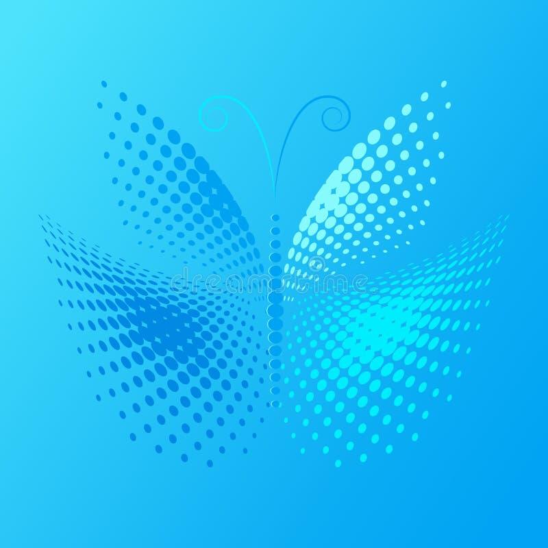 πεταλούδα ημίτοή διανυσματική απεικόνιση