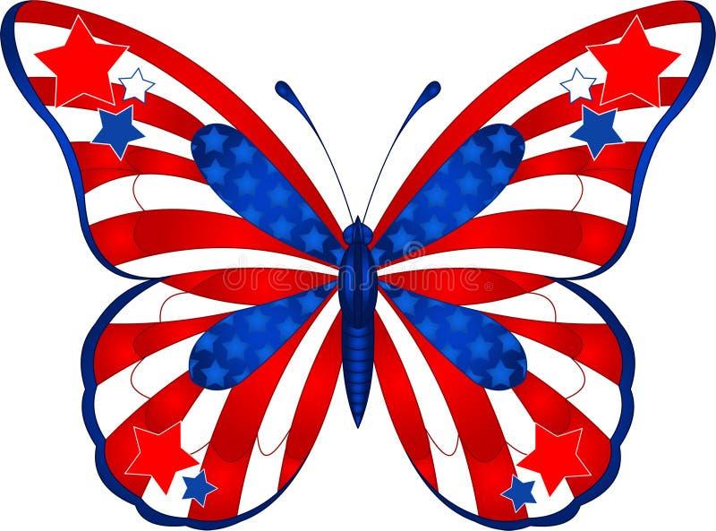 πεταλούδα ΗΠΑ απεικόνιση αποθεμάτων
