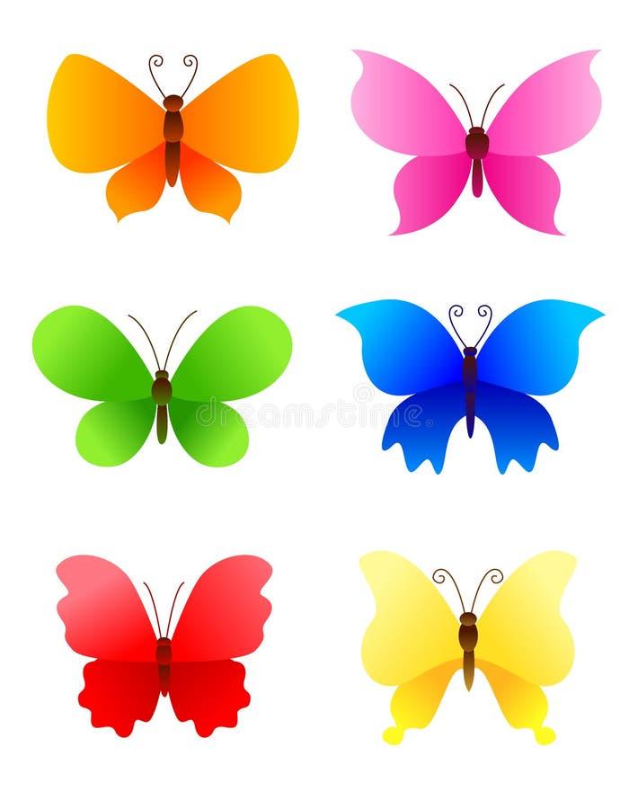 πεταλούδα πεταλούδων διανυσματική απεικόνιση