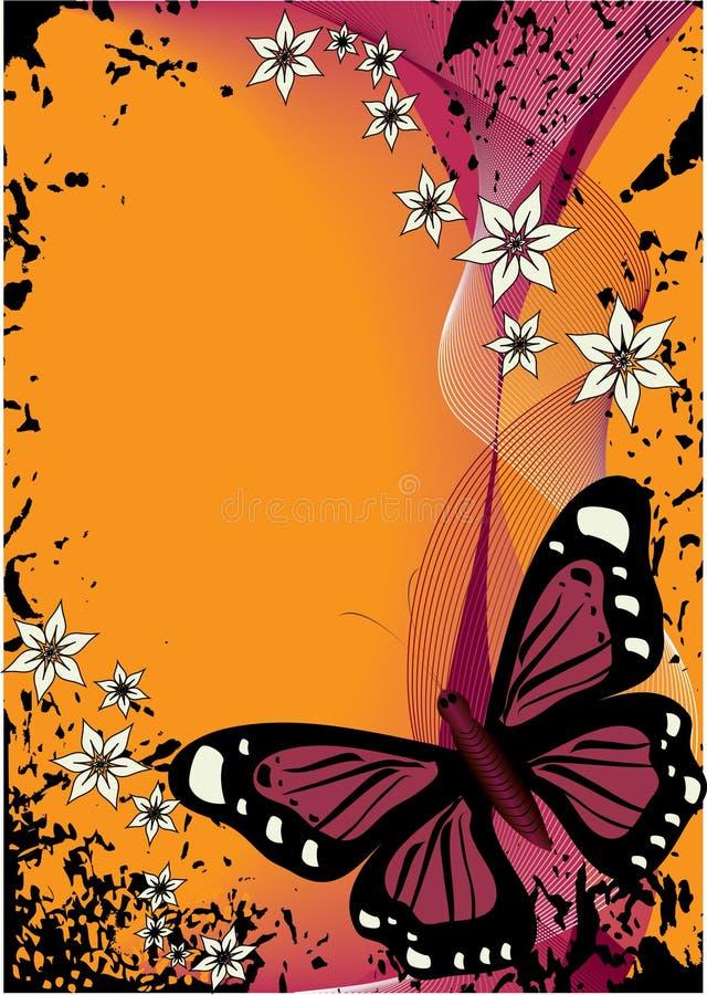 πεταλούδα 2 διανυσματική απεικόνιση