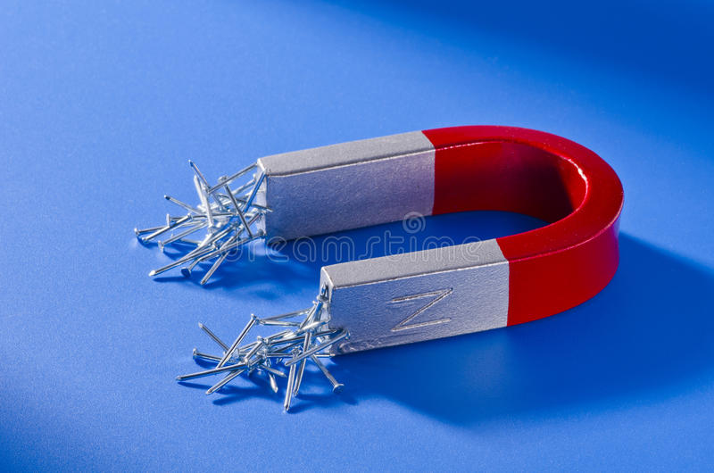 Πεταλοειδής μαγνήτης στοκ εικόνα με δικαίωμα ελεύθερης χρήσης