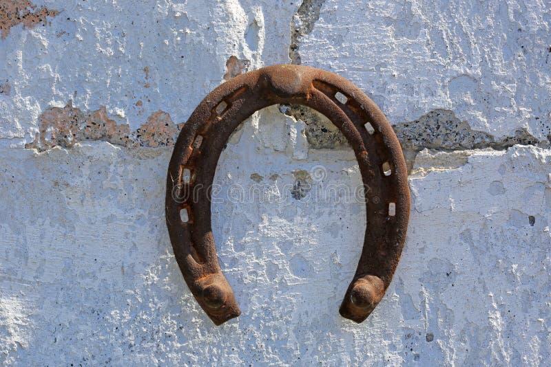 πεταλοειδής παλαιός σκ στοκ εικόνα