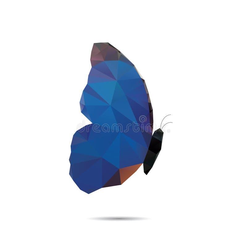 Πεταλούδα τριγώνων στοκ εικόνα