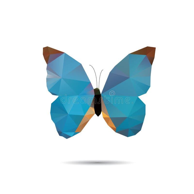 Πεταλούδα τριγώνων στοκ εικόνα με δικαίωμα ελεύθερης χρήσης