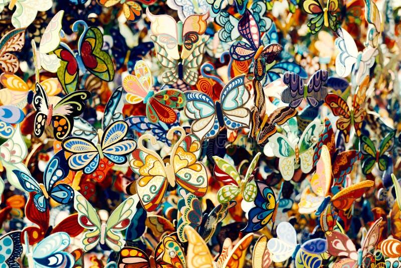 Πεταλούδες από Άγιο Tropez, Γαλλία στοκ εικόνες