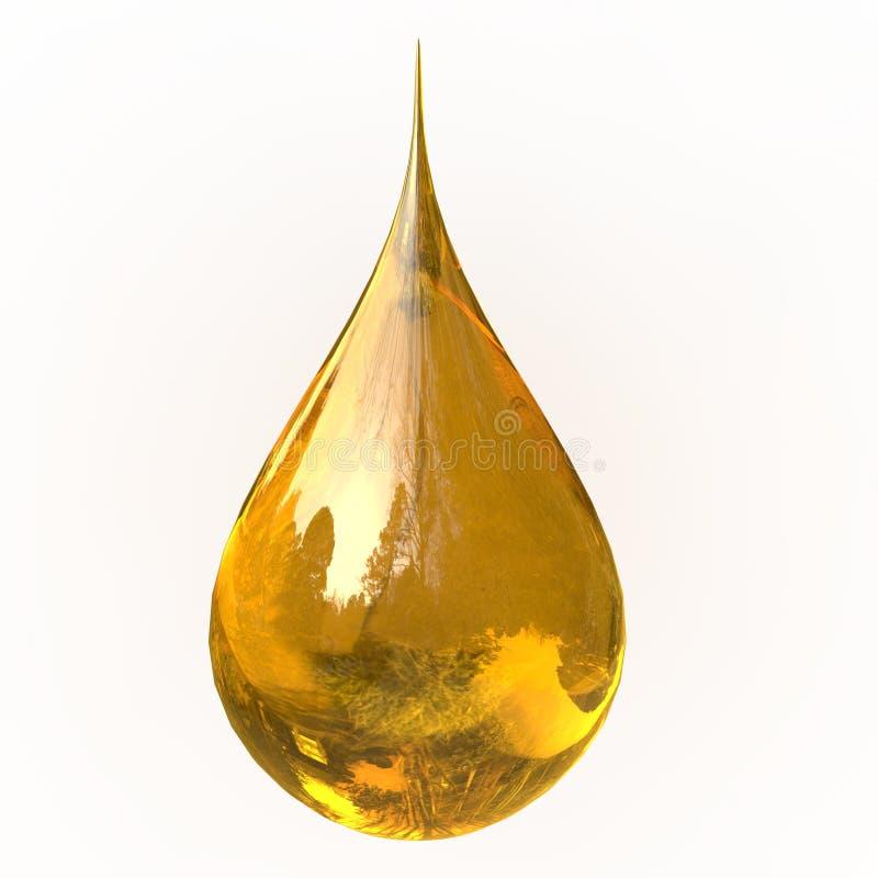 πετρέλαιο απελευθέρωσης απεικόνιση αποθεμάτων