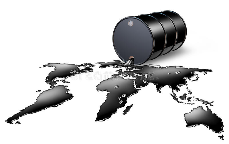 πετρέλαιο βιομηχανίας διανυσματική απεικόνιση