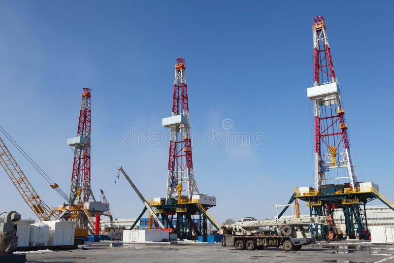 πετρέλαιο φορτωτήρων στοκ εικόνα