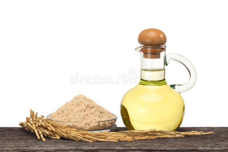 Πετρέλαιο πίτουρου ρυζιού στοκ φωτογραφία