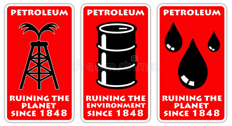 Πετρέλαιο διανυσματική απεικόνιση