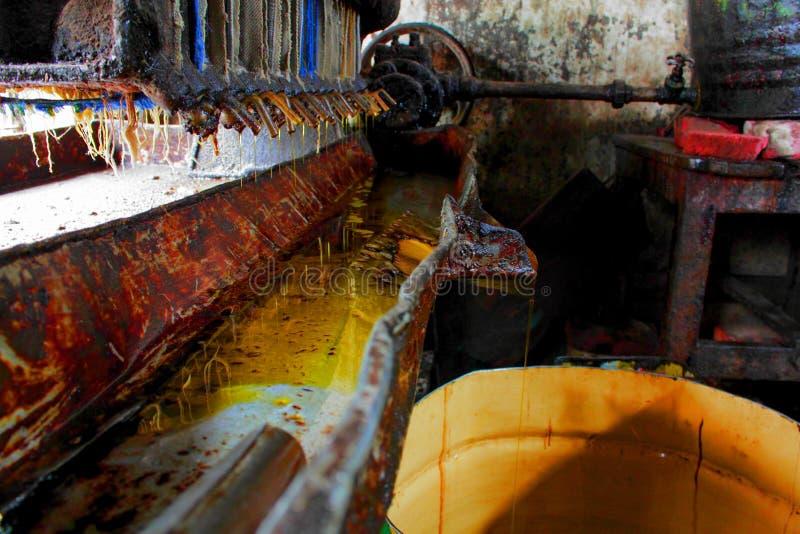 Πετρέλαιο mil στοκ φωτογραφία με δικαίωμα ελεύθερης χρήσης