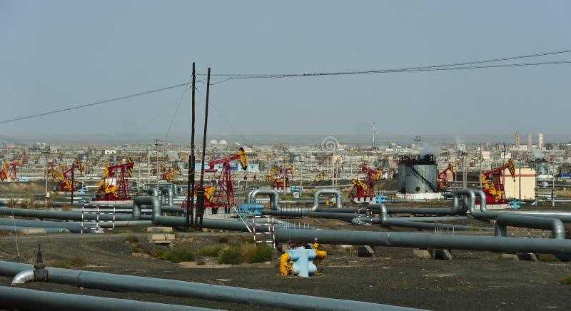 Πετρελαιοφόρος περιοχή στοκ φωτογραφία με δικαίωμα ελεύθερης χρήσης
