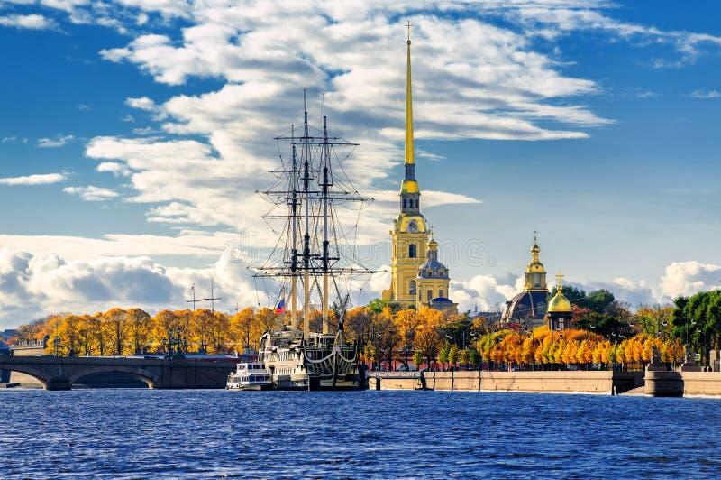 Πετρούπολη Ρωσία ST στοκ φωτογραφία
