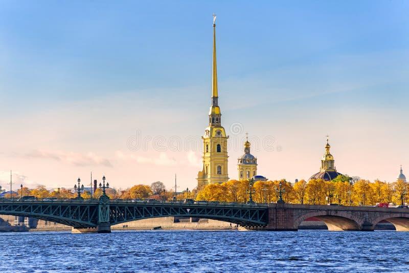 Πετρούπολη Ρωσία ST στοκ εικόνα