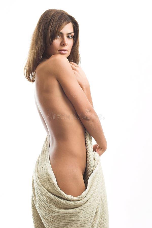 Download πετσέτα κοριτσιών στοκ εικόνες. εικόνα από γοητεία, λιχουδιά - 2225142