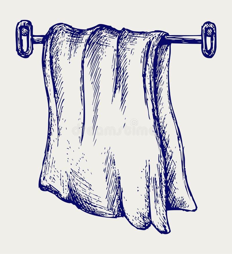 Πετσέτα κουζινών διανυσματική απεικόνιση