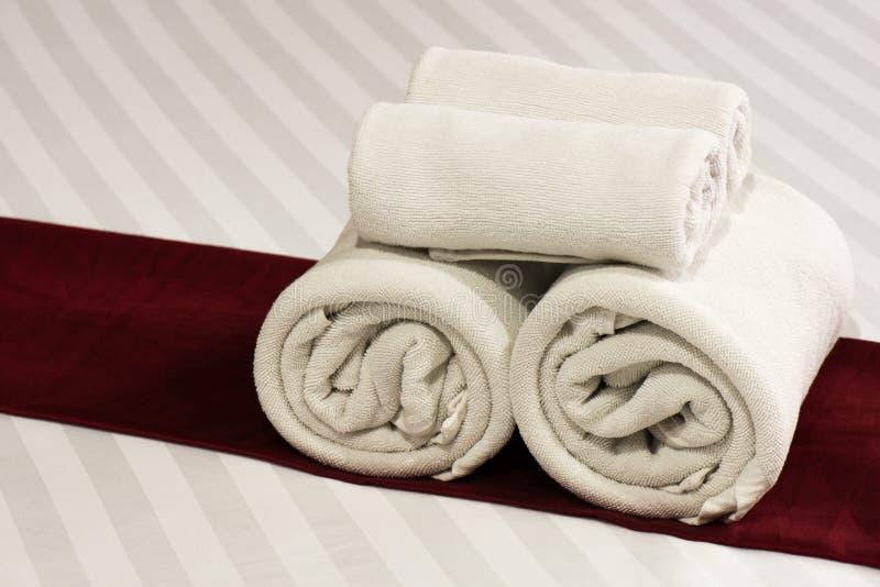 Πετσέτα, ξενοδοχείο στοκ φωτογραφία με δικαίωμα ελεύθερης χρήσης