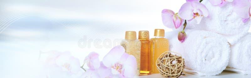 πετσέτες λουλουδιών στοκ εικόνα με δικαίωμα ελεύθερης χρήσης