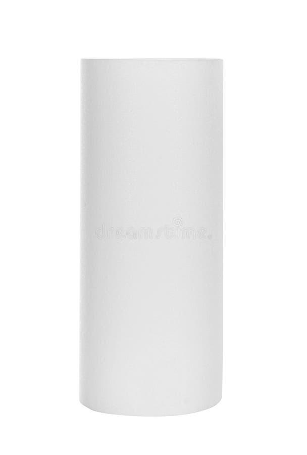 Πετσέτες ρόλων του εγγράφου που απομονώνονται στο λευκό στοκ εικόνες