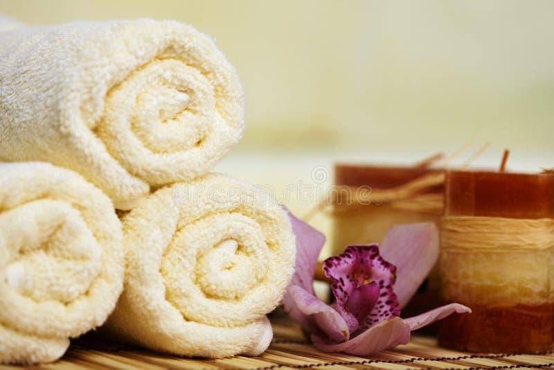 πετσέτες χαλιών ζωής κερ&iota στοκ εικόνες