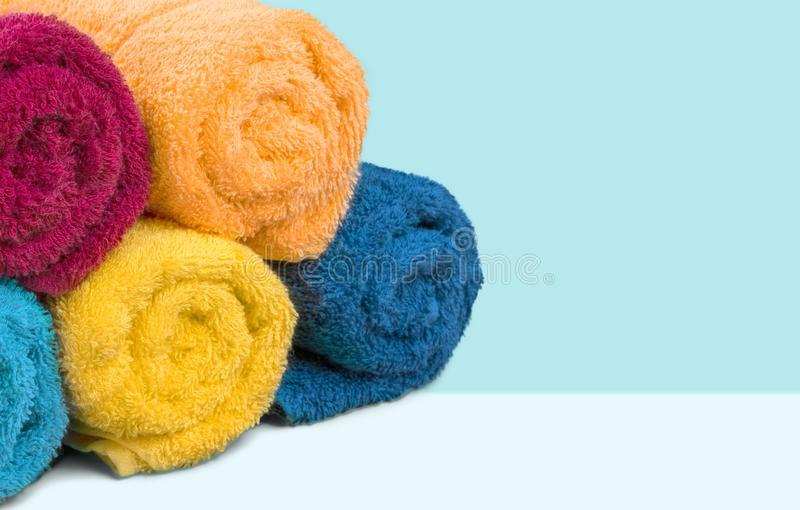 Πετσέτες στοκ φωτογραφία με δικαίωμα ελεύθερης χρήσης