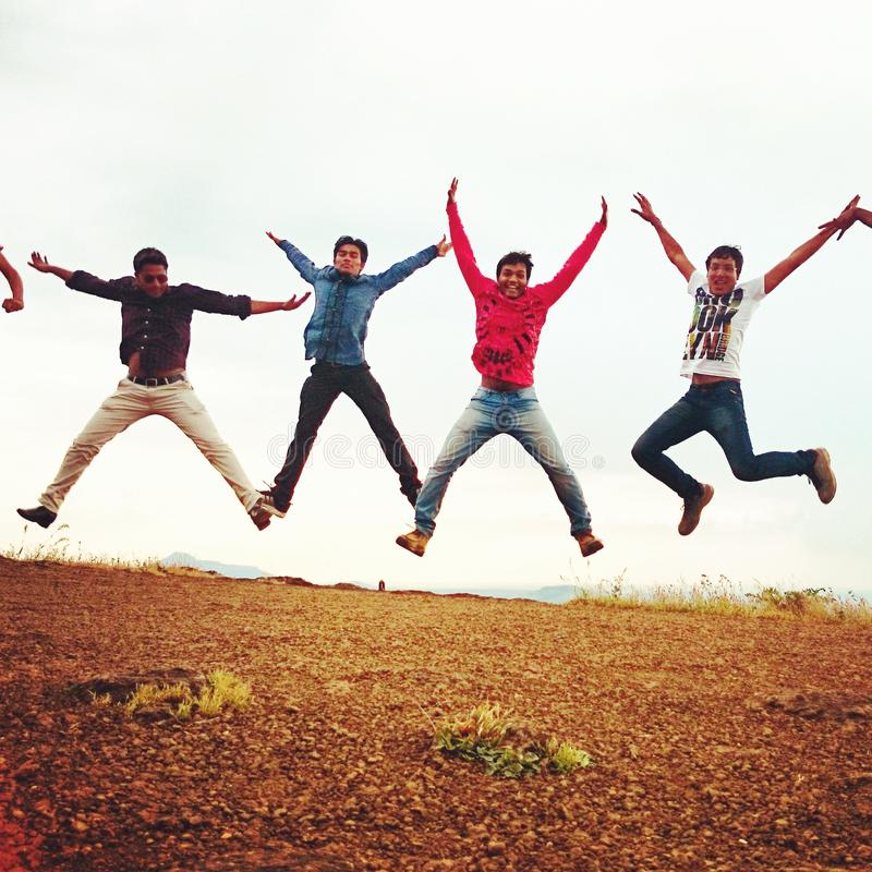 Πετώντας αγόρια στοκ φωτογραφίες με δικαίωμα ελεύθερης χρήσης