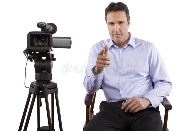 Πετώντας διευθυντής στοκ εικόνα με δικαίωμα ελεύθερης χρήσης