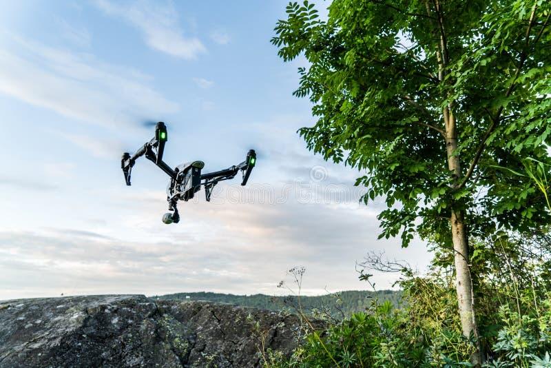 Πετώντας κηφήνας στοκ φωτογραφία με δικαίωμα ελεύθερης χρήσης