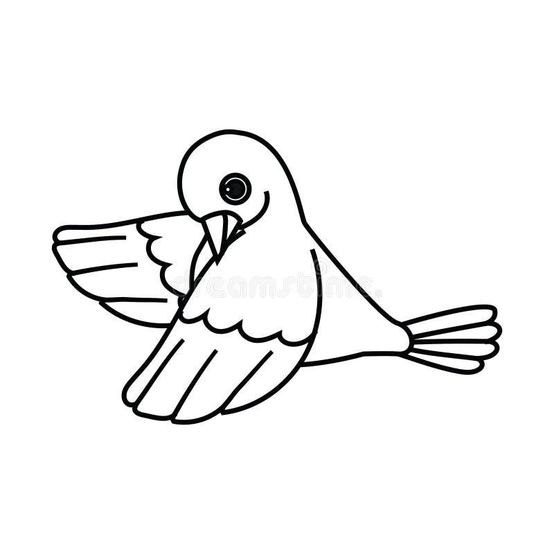 Πετώντας περίληψη πουλιών (που πετιέται κάτω από) απεικόνιση αποθεμάτων