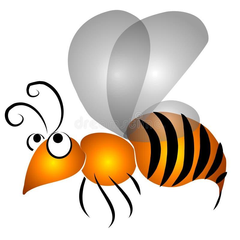 πετώντας σφήκα συνδετήρων απεικόνιση αποθεμάτων