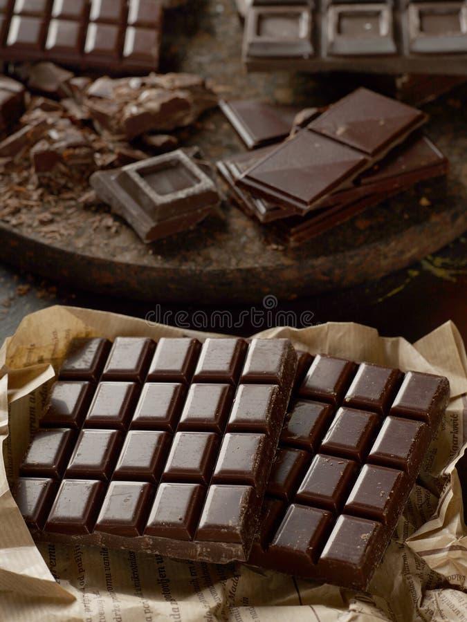 πεδίο βάθους σοκολάτας ράβδων ρηχό στοκ εικόνες με δικαίωμα ελεύθερης χρήσης