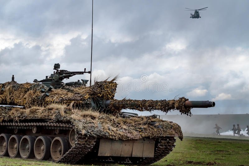 Πεδίο μάχη ζωνών πολέμου στοκ φωτογραφία με δικαίωμα ελεύθερης χρήσης