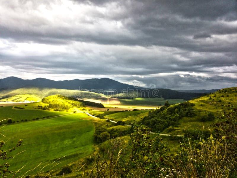 Πεδινά της Σλοβακίας στοκ εικόνες με δικαίωμα ελεύθερης χρήσης