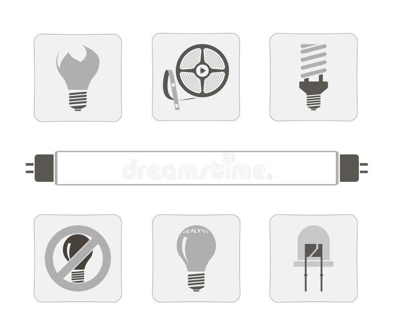 Πηγές φωτός. ελεύθερη απεικόνιση δικαιώματος