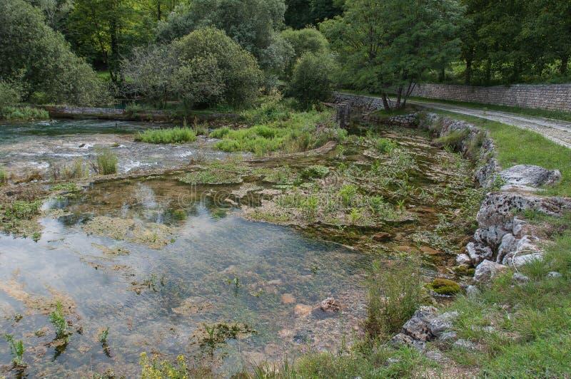 Πηγή ποταμών Livenza, Ιταλία στοκ εικόνες με δικαίωμα ελεύθερης χρήσης