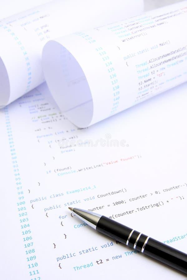 πηγή προγραμματισμού κώδι&kappa στοκ εικόνες με δικαίωμα ελεύθερης χρήσης