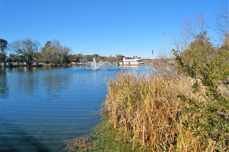 Πηγή στη λίμνη του Louis χωρίς παπούτσια να προσγειωθεί στοκ φωτογραφία με δικαίωμα ελεύθερης χρήσης