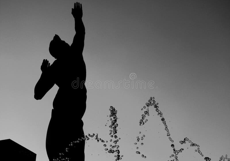 Πηγή της αιώνιας ζωής στο Κλίβελαντ στοκ φωτογραφία με δικαίωμα ελεύθερης χρήσης