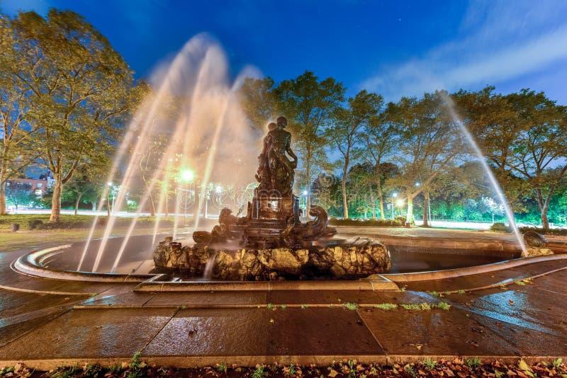 Πηγή της Bailey - Μπρούκλιν, Νέα Υόρκη στοκ φωτογραφία με δικαίωμα ελεύθερης χρήσης