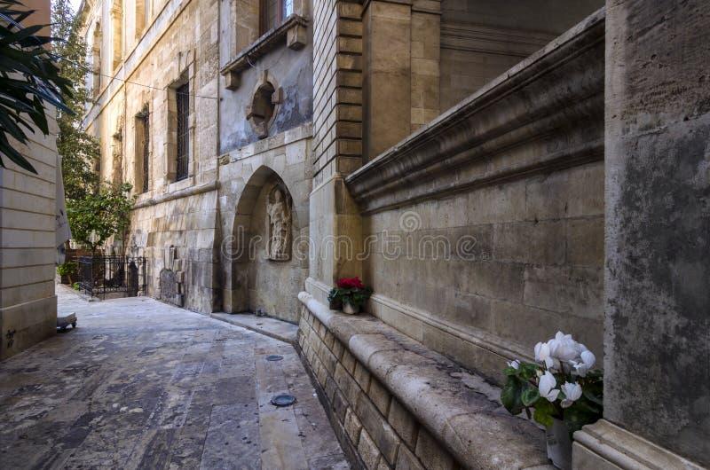 Πηγή Sagredo στο ενετικό κτήριο Loggia στην πόλη Ηρακλείου - Κρήτη στοκ εικόνες