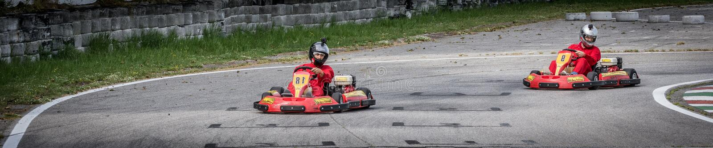 Πηγαίνετε ανταγωνισμός Kart στοκ εικόνες με δικαίωμα ελεύθερης χρήσης