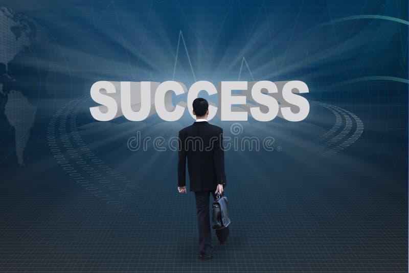 πηγαίνετε επιτυχία στοκ εικόνες
