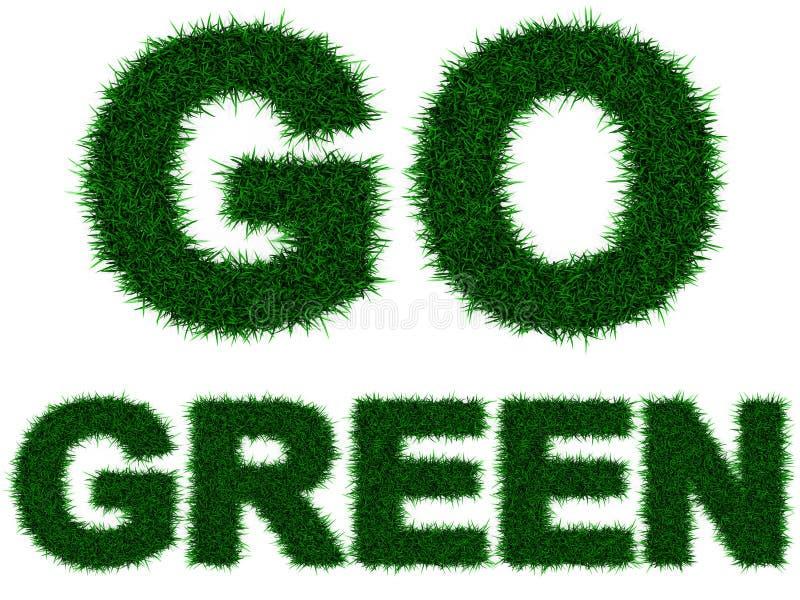 πηγαίνετε πράσινος ελεύθερη απεικόνιση δικαιώματος