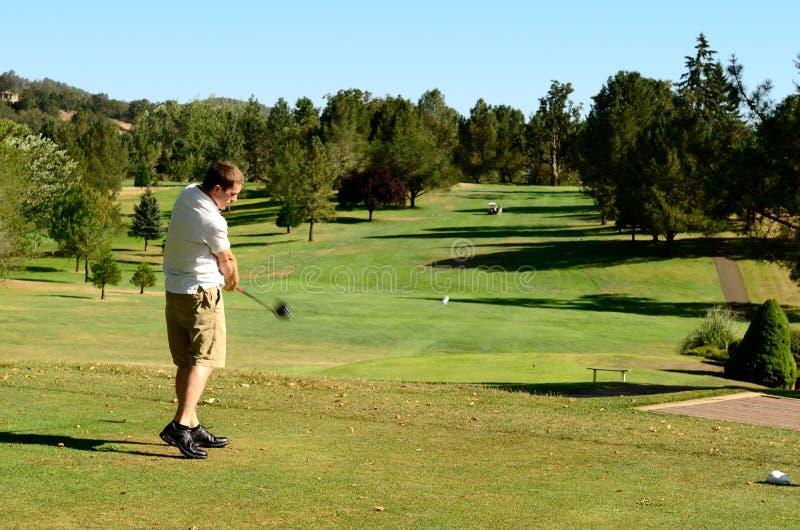 Πηγαίνετε Golfing στοκ εικόνα