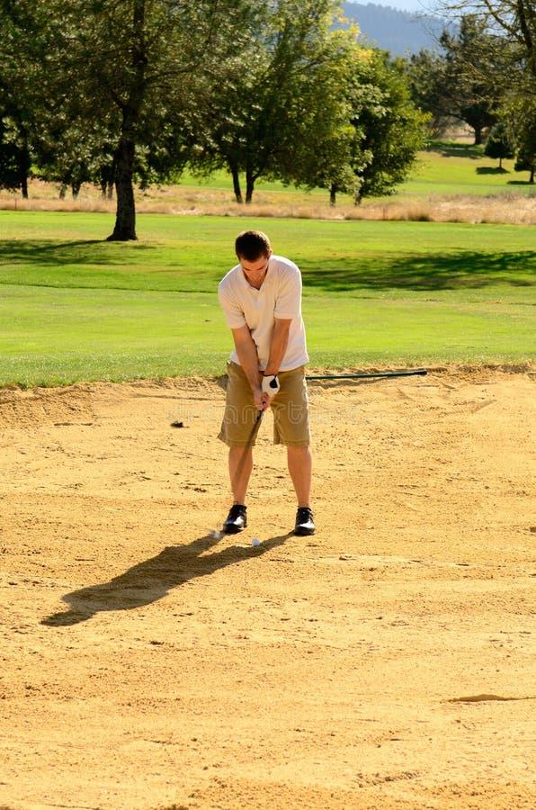 Πηγαίνετε Golfing στοκ φωτογραφία με δικαίωμα ελεύθερης χρήσης
