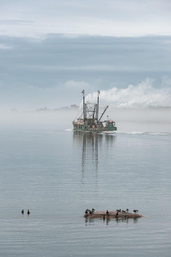 Πηγαίνοντας αλιεία Ilha Brava αλιευτικών σκαφών στοκ φωτογραφία με δικαίωμα ελεύθερης χρήσης