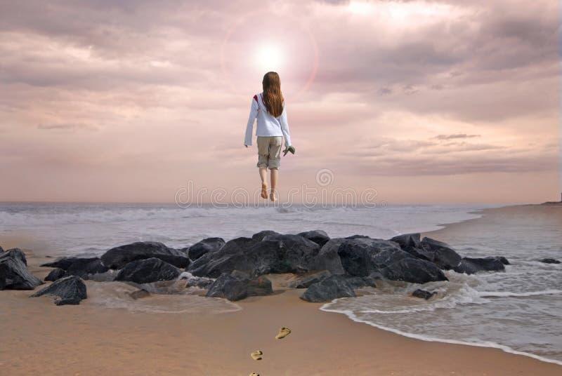 πηγαίνοντας ουρανός στοκ εικόνα με δικαίωμα ελεύθερης χρήσης