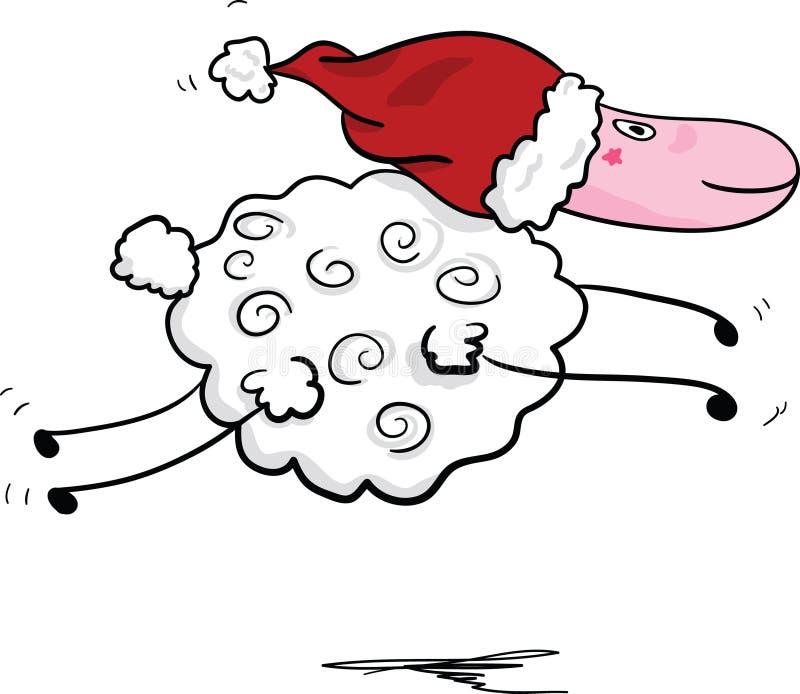 πηδώντας πρόβατα ελεύθερη απεικόνιση δικαιώματος