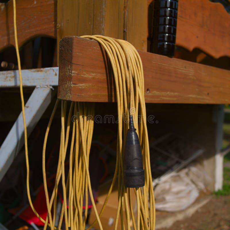 Πηνίο ηλεκτρικών καλωδίων στοκ φωτογραφία με δικαίωμα ελεύθερης χρήσης